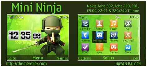 themes naruto nokia c3 mini ninja theme themereflex