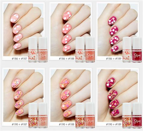 Etude House Play Nail 14 etude house look at my 3 color palette play nail memorable days