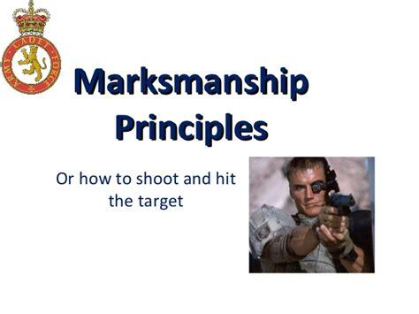 marksmanship fundamentals improve your shooting by mastering the basics books marksmanship principles modified