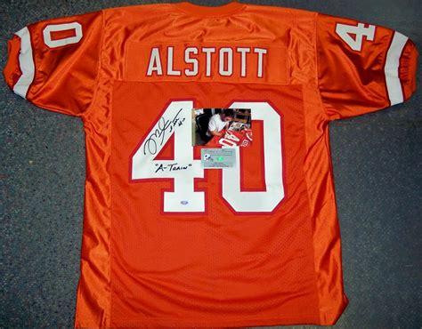 throwback orange mike alstott 40 jersey treasure p 329 mike alstott signed jersey autographed authentic nfl