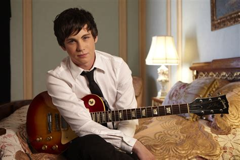 who is the actor playing the guitar in the xarelto commercial logan lerman cast in the only living boy in new york