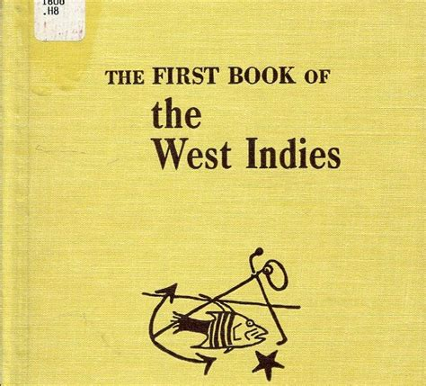 the west indies and the books we were children mr barrie langston hughes wrap up
