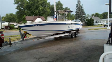 scarab boats fishing sold 1997 scarab 302 center console the hull truth