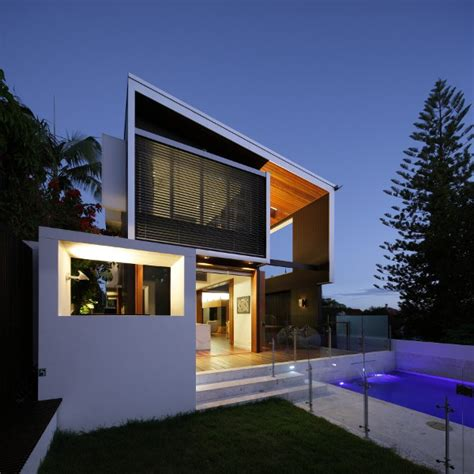 amazing modern houses volumes and voids browne street house by shaun lockyer