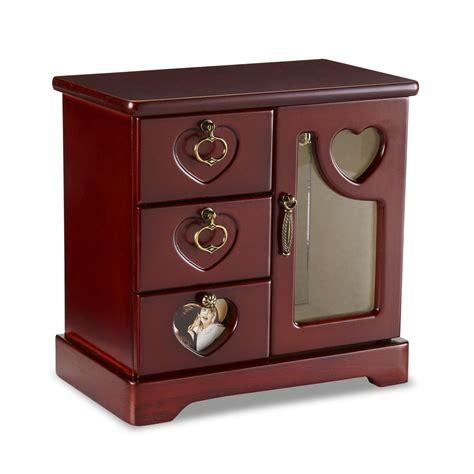 jewelry box smith wooden walnut jewelry box shop your way