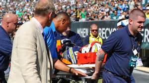 san diego chargers malcom floyd in neck brace out