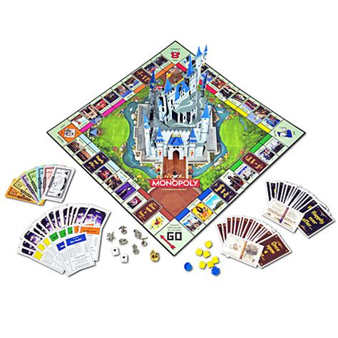 themes of monopoly board games new disney monopoly theme park edition iii pop up
