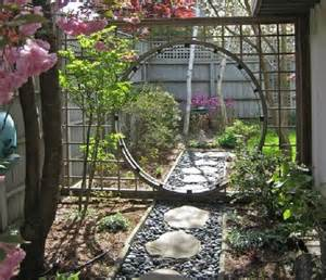 china gate arbor a moon gate for your garden nifty homestead