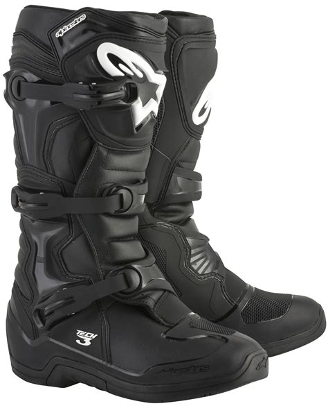 tech 3 motocross boots 2018 alpinestars tech 3 boots black new 2018 alpinestars