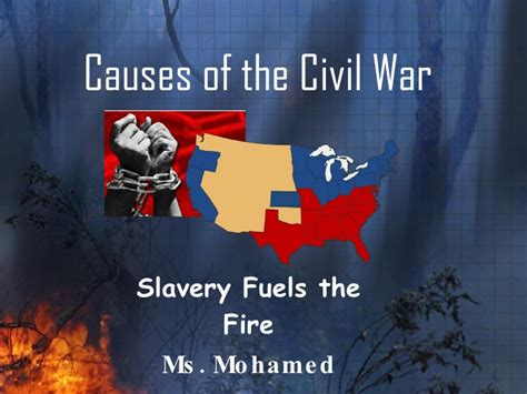 causes of the civil war sectionalism causes of the civil war