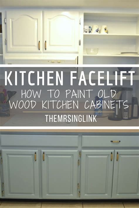 diy kitchen cabinet facelift best 25 painting wood cabinets ideas on