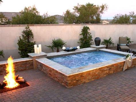 feuerstelle auf der terrasse die besten 17 ideen zu whirlpool terrasse auf