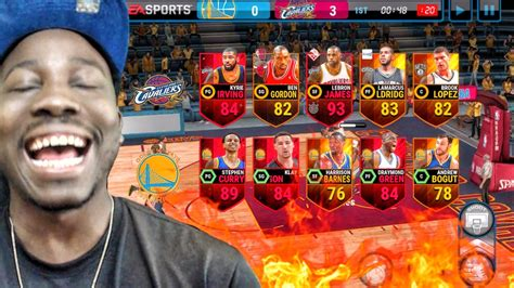 live mobile lebron scores 50 points in nba finals nba live mobile 16