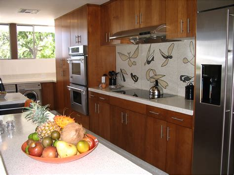 Mid Century Modern Kitchen Design Key Interiors By Shinay Mid Century Modern Kitchen Ideas