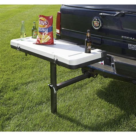 hitch bench tailgator hitch mounted table 152186 towing at