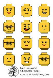 Lego themed birthday party free download sunset family living
