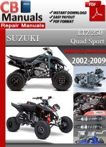 small engine repair manuals free download 2005 suzuki grand vitara navigation system suzuki ltz 250 quad sport 2002 2009 service manual free download service repair manuals