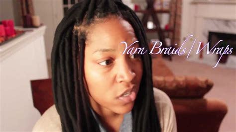 how to wrap african bareds yarn dread wraps hairstyles black women