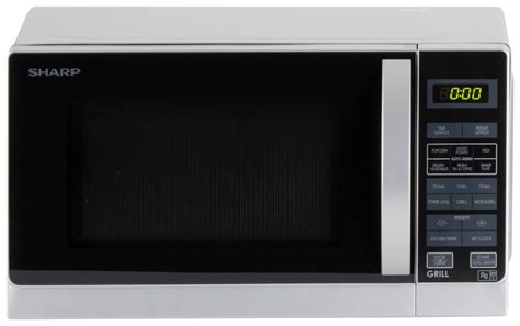 Microwave Sharp R 678 sharp 800w microwave with grill r662slm silver