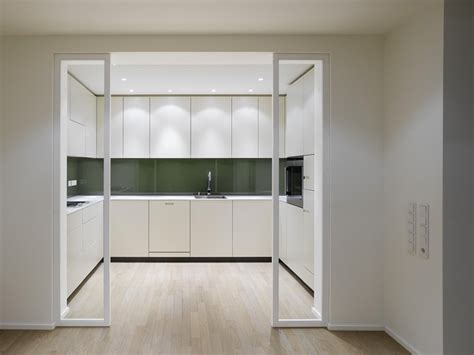 Kitchen Interior Doors elegant interior design a duplex apartment with a fireplace in the