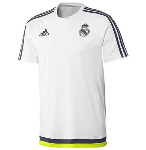 Tshirtt Shirtkaos Adidas Real Madrid 2015 2016 real madrid adidas white
