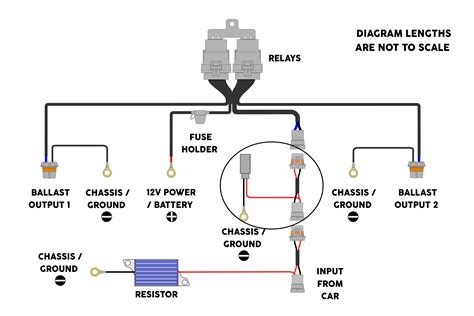 hid wiring diagram with capacitor wiring diagram with