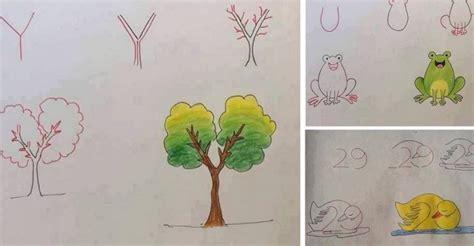 disegnare con le lettere insegna a tuo figlio a disegnare con l aiuto dei numeri e