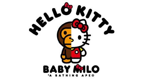 baby shark hello kitty new bape x hello kitty collaboration teased clutter magazine