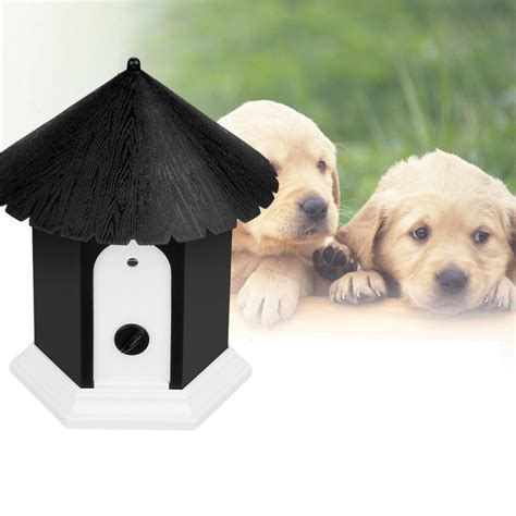 anti barking 2015 pet products puppy outdoor ultrasonic anti barking birdhouse bark stop