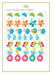 free worksheets 187 spring kindergarten free math