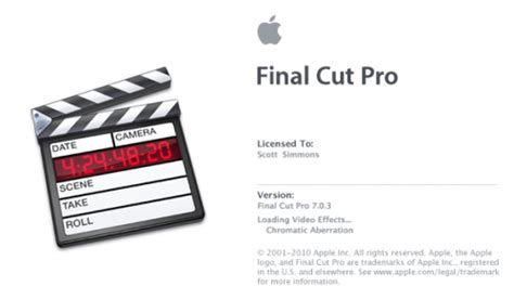 final cut pro in yosemite installing and editing with final cut pro 7 on a new
