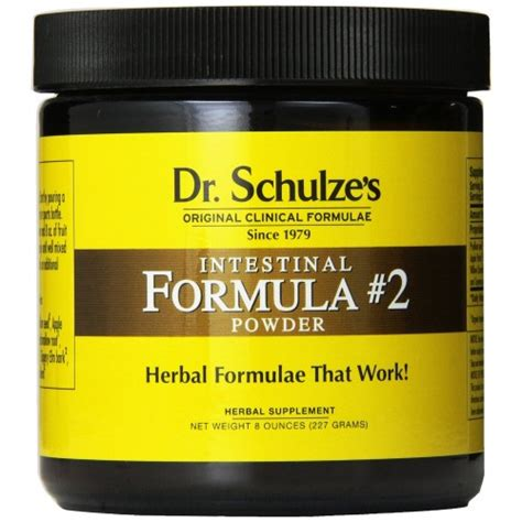 Dr Schultze Stomach Detox Located by Buy Dr Schulze S Intestinal Formula 2 Powerful