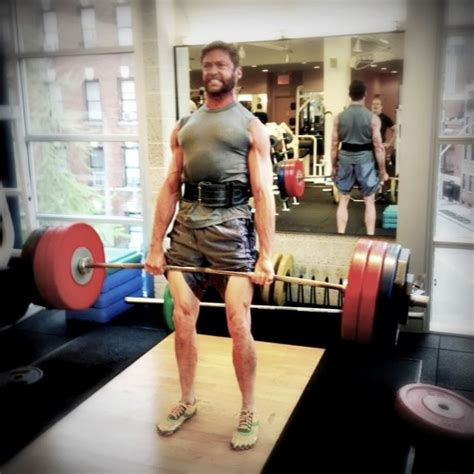 hugh jackman bench hugh jackman a k a the wolverine lean ripped and