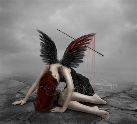 el ala rota fallen angel by creamydigital on