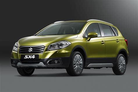 The New Suzuki Suzuki S All New C Segment Crossover The Sx4 Makes World