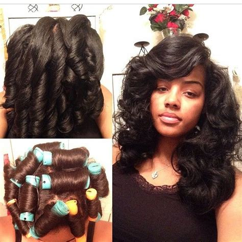 why perm not curly best 25 roller set natural hair ideas on pinterest