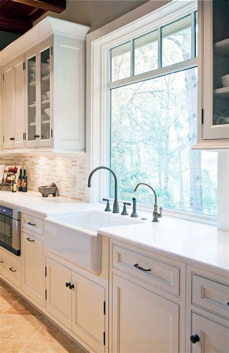 Best 25 Kitchen Sink Window Ideas On Pinterest Kitchen Bathroom Cabinet Designkitchen Window Designs