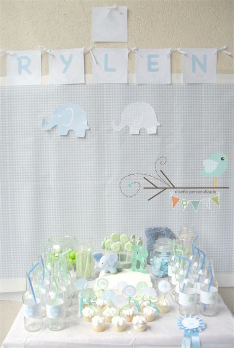 Blue Elephant Baby Shower Theme by 40 Best Baby Shower Elephant Theme Images On