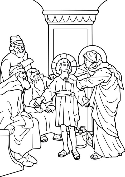 coloring pages boy jesus in the temple image coloring the boy jesus in the temple صورة تلوين
