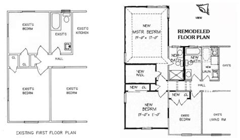 ranch home remodel floor plans 5 stages of remodeling the house designers