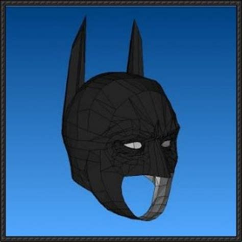 Papercraft Batman Mask - batman mask free papercraft