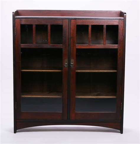 stickley bookcase for sale l jg stickley two door poplar bookcase california