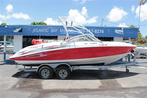 yamaha jet boats for sale in miami 2006 used yamaha ar230 ho jet boat for sale 17 900