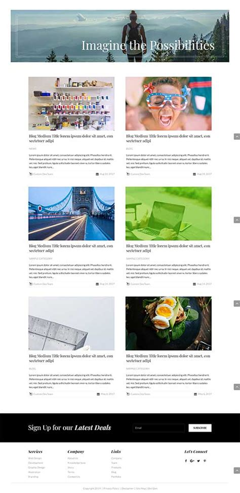 page layout for blog divi blog layouts on divi theme layouts