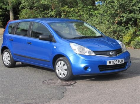 nissan note 2009 used 2009 nissan note blue edition petrol for sale in