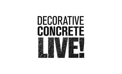 decorative concrete live welcomes guests with new