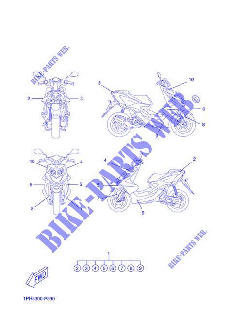 Yamaha Aerox Aufkleber Original by Aufkleber Ns50 Aerox 2015 50 Scooter Yamaha Motorrad