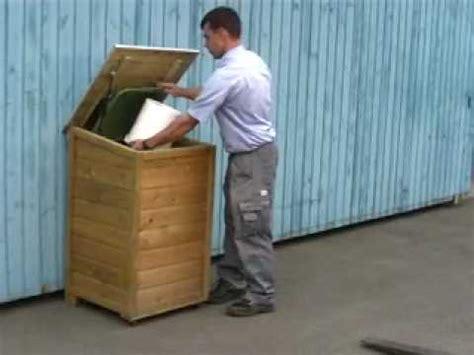 holzland seibert m 252 lltonnenbox holzland seibert einfach stabil