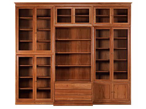 libreria massello modulo 900 libreria in legno massello by morelato design