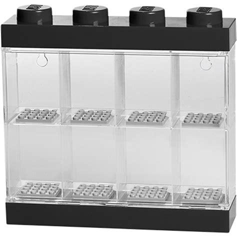 8 figure display lego mini figure display 8 minifigures black iwoot